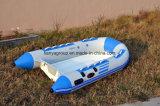 Barco da parte inferior da fibra de vidro 40HP de Liya 3m-4m para o preço do barco do reforço da venda