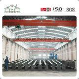 Горячая окунутая гальванизированная стальная структура (пакгауз/мастерская/фабрика)