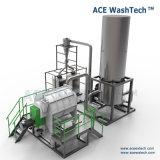 El ahorro de energía contaminó la máquina plástica del reciclaje inútil