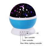 Proiezione di sogno della lampada dell'indicatore luminoso di notte del proiettore LED di notte di rotazione per Halloween Chirstmas