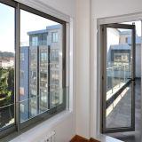 Broad Aluminum Sliding Window Black Sliding Window with Mesh