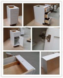 Directamente da fábrica de móveis de cozinha de madeira sólida de contraplacado de armários de cozinha moderna