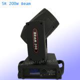 Le déplacement de l'épiaison Sharpy faisceau de lumière 200W 5R