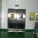 耐衝撃性のドアのステンレス鋼の振動ドアの倍の葉