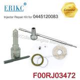 Kit Dlla150p2143+F00rj01692 della ricostruzione dell'iniettore di combustibile del kit di riparazione di revisione di Erikc F00rj03498 F 00r J03 498 per 0445120191, 0445120260