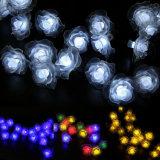 يشعل شمسيّ يزوّد خيط خارجيّة 50 [لد] [روس] زهرة مسيكة ساحر حديقة خارجيّة عرس عيد ميلاد المسيح أضواء زخرفيّة