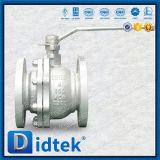 2 Pieza flotante Didtek cuerpo llave para operar la válvula de bola