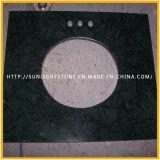 صنع وفقا لطلب الزّبون طبيعيّ رخام/صوان/مرو حجارة تفاهة أعلى لأنّ غرفة حمّام