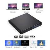 USB3.0 de externe de blu-Straal DVD van de Aandrijving van de Brander van Blu Ray van het Aluminium Externe 3D CD Aandrijving van de Schrijver bd/CD/DVD-RW van de Aandrijving Externe voor PC/Laptop/Mac Air/PRO met Vensters/MAC Osx