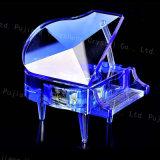 De Draadloze Giften van uitstekende kwaliteit van het Huwelijk van het Kristal van de Muziekdoos van de Piano Bluetooth