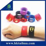 Lo schiaffo dell'eroe eccellente lega il braccialetto del Wristband di schiaffo del silicone