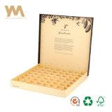 Concha personalizados de lujo con revestimiento de papel Caja de Chocolate