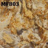 Plak van de Steen van het Kwarts van het Ontwerp van het Bouwmateriaal de Marmeren en Countertop van het Kwarts