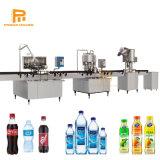 Автоматическая малых Пэт стеклянную бутылку минеральной воды / Мягкий газированных напитков напитки / фруктовый сок горячего наполнения розлива оборудование / производственной линии машины