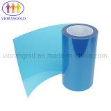 25µ/36µ/50µ/75µ/100µ/125um azul transparente/película de protecção de animais de estimação com adesivo acrílico para proteger a tela do computador