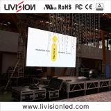 屋内会議または展覧会の講義室の大きいLED表示スクリーンP3.9