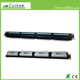 Buena calidad de montaje en pared Cat5e UTP Patch Panel