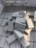 Flammé/sciés couper/a dégringolé de bordures de granit G603/G654/G682 Le pavage des cubes