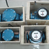 低価格楕円形ギヤ流量計のココナッツ油の流れメートル