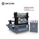 Máquina de perfuração morrem automática para a folha de capa de papel