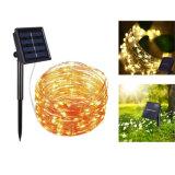 Lampe solaire LED lampe étanche à l'extérieur de la pelouse de chaîne