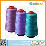 De goedkope 20/3 Naaiende Draad van de Polyester van 100% Kegel Gesponnen