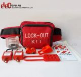 Venta caliente bloqueo portátil eléctrico Kits de dispositivos de señalización de seguridad Kit de candado