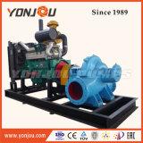Yonjouのブランドの二重吸引のディーゼル機関を搭載する遠心水ポンプ