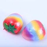 Nouveau Hot Squishy lente Jouet de rebond de fruits de Simulation de PU Squeeze de décompression des jouets pour enfants