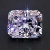 Personalizar Boa cor super branco luminoso Radiant Solto Moissanite diamantes