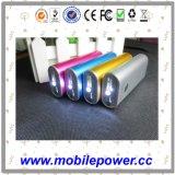 4000mAh carregador móvel portátil com lanterna