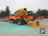 Individu chaud de matériel de construction de Hongyuan 3.5cbm de vente chargeant la machine concrète mobile de camion de mélangeur de colle à vendre