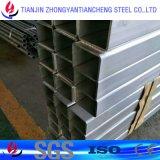 6061 6063 Buis/de Pijp van het Aluminium Vierkante die in Kleur voor Decoratie met een laag wordt bedekt