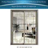 Алюминиевая вися раздвижная дверь для ярда и балкона и патио