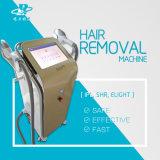 Salone verticale Shr IPL per rimozione dei capelli con addestramento libero