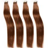 Extensão de cabelo brasileiro Grande Promoção Fita Barata Extenisons Cabelo 18 20 22 24 20PCS/lote Remy Cabelo humano trama de Pele Grossa de fita