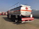 6X4 20 Cbm tankt Tankwagen 20000 L van de Brandstof de Prijs van de Vrachtwagen bij