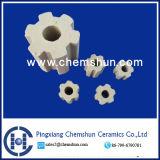 Anneau de flasque en céramique pour le remplissage chimique