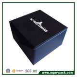 Специальная конструированная черная бумажная коробка вахты для сбывания