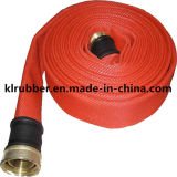 Revestimiento de PVC y PU manguera contra incendios para la lucha contra incendios
