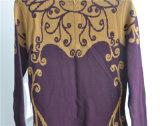 Zpperの女性によって模造される長い袖のプルオーバーによって編まれるセーター