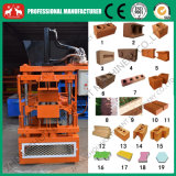 Machine de fabrication de brique de verrouillage hydraulique semi automatique d'argile (0086 15038222403)