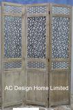 Decoratief graveer de Antieke Uitstekende Houten Verdeler van de Zaal van het Scherm