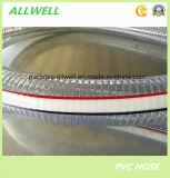 PVC鋼線補強された水産業潅漑の排出管のホース
