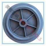 roda do sólido do carro do descarregador do brinquedo do pneumático do PVC 6X1.5