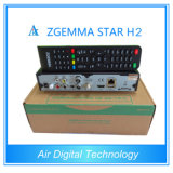 2015 가장 새로운 Zgemma 별 H2 3배 조율사 DVB-S2+DVB-T2/T/C 인공 위성 수신 장치