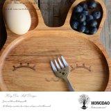 Dienblad van de Grootte van de Douane van Hongdao het Stevige Houten Dienende voor Voedsel In het groot _E