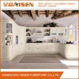 Prix abordable des meubles en bois solide armoire de cuisine en bois avec Island