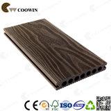 Decking composito di plastica di legno di superficie ad alta resistenza vuoto 3D