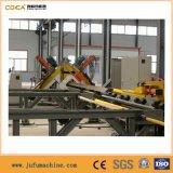 Производственная линия стального Drilling угла печатая на машинке режа